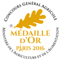 Medaille Or 2016 125